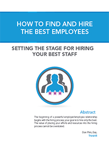 How To Find And Hire The Best Employees