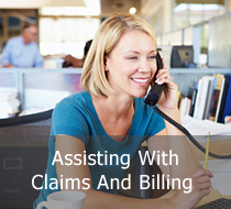Assisting With Claims And Billing